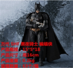 Bandai Batman Super Hero Model Toys SHF The Dark Knight Anime PVC Action Movable Figure 16cm
