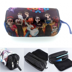 Coco Cosplay Movie Cartoon For Student Anime Pencil Bag