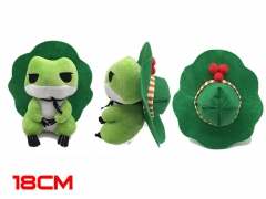 Travel Frog Game Cosplay Cartoon Decoration Cute Doll Anime Plush Toy