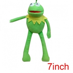 Sesame Street Kermit the Frog American Cartoon Wholesale Stuffed Doll Anime Plush Pendant 7inch
