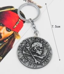 Pirates of the Caribbean Anime Keychain