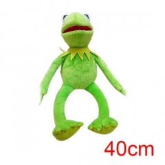 Sesame Street Kermit the Frog American Cartoon Wholesale Stuffed Doll Anime Plush Toys 40cm