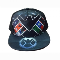 Agents of S.H.I.E.L.D. Cartoon Baseball Cap Wholesale Movie Canvas Anime Hat