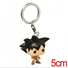 Funko Pocket POP Dragon Ball Z DBZ Goku Japanese Figure Anime Toy Kechain