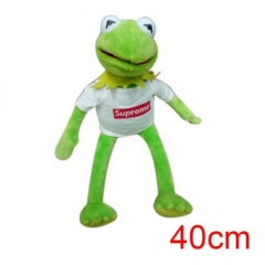 Sesame Street Kermit the Frog American Hot Cartoon Stuffed Doll Anime Plush Toys 40cm