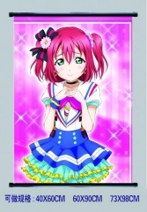 LoveLive Cosplay Japanese Cartoon Decorative Wall Anime Wallscroll