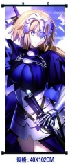 Fate Stay Night Cosplay Cartoon Decorative Wall Hanging Anime Wallscroll
