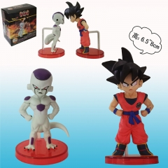Dragon Ball Z Son Goku and Frieza Cartoon Model Toys Japanese Anime Figure 7cm