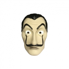 Spain TV Series La casa de papel Salvador Dali Cosplay Mask (1set/20pcs)