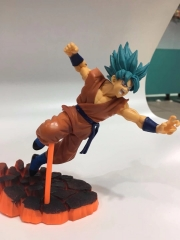 Dragon Ball Z  Anime Goku PVC Figure Battle Version 15CM