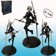 NieR: Automata Battle Versions Anime Figure Video Game Toy 24cm