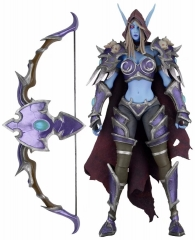 World of Warcraft Neca Heroes of the Storm :  The Banshee Queen Sylvanas Anime Figure Model Toy 18cm