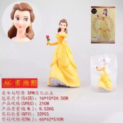 Dinesy Beauty and the Beast Belle Princess Cosplay Collection Cartoon Toy Anime Figure