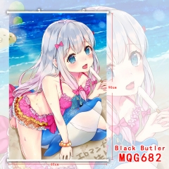 Eromanga Sensei Sexy Girl Painting Hanging Wall Scroll Home Decoration Poster Cosplay Wallscrolls 280G