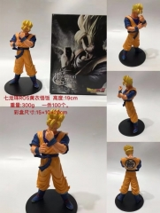 Dragon Ball Z Son Goku Super Saiyan Cartoon Model Toys Anime PVC Figure 19cm