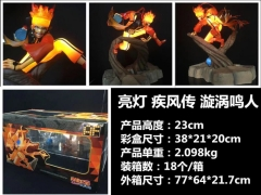 Naruto Fancy Lighted Uzumaki Naruto Cosplay Collection Cartoon Toy Anime Figure