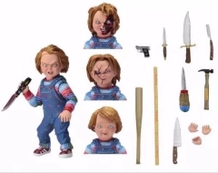 Child's Play Chucky Anime Action Figure Horrible Movie Toy 20cm