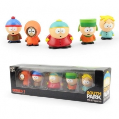 South Park Anime Vinyl Figure Toys Set