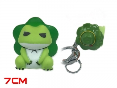 Travel Frog Cosplay Hot Game Decoration Anime PVC Keychain