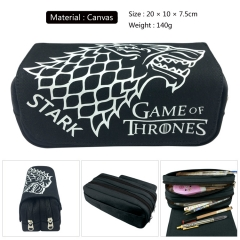 Game of Thrones Cosplay Canvas For Student Anime Pencil Bag