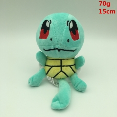 Pokemon Character Squirtle  Anime Plush Stuffed Toy 15cm