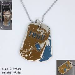 The Thor Cosplay Movie Cartoon Decoration Anime Necklace