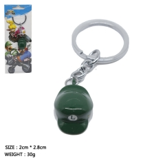 Super Mario Bro Cosplay Green Cap Decoration Anime Keychains