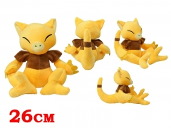Pokemon Anime Abra Plush Doll Anime Plush and Stuffed Toy