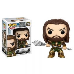 Funko POP Justice League Aquaman Anime PVC Action Figure 205#