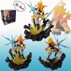 Dragon Ball Z Cosplay Collection Super Saiyan Gogeta Cartoon Model Toy Anime Figure