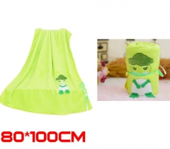 Japanese Game Travel Frog Game Plush Soft Cute Blanket 80*100cm