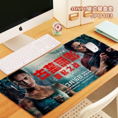 Tomb Raider Cosplay Movie Locking Thicken Mouse Mat Anime Mouse Pad