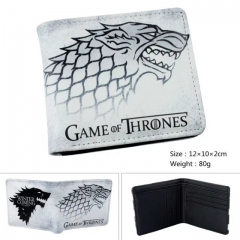 Game of Thrones Cartoon Purse Wholesale PU Anime Short Wallet