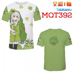 Travel Frog Japanese Game Cosplay 3D Print Anime T Shirts Anime Short Sleeves T Shirts 210g