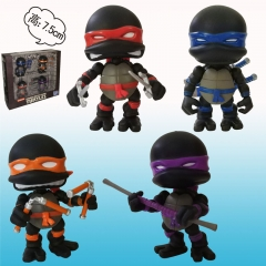 Teenage Mutant Ninja Turtles Black Movie Anime Figure toy