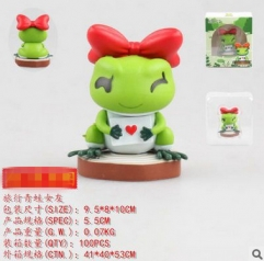Travel Frog Cosplay Game Collection Cartoon Model Toy Anime Figure
