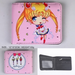 Pretty Soldier Sailor Moon Anime PU Leather Wallet