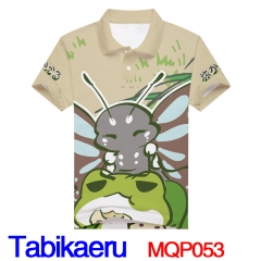 Travel Frog Game Cosplay  3D Print Fashion Anime T Shirts Good Quality Anime Short Sleeves Polo T Shirts