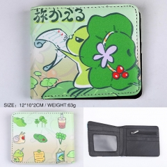 Travel Frog Game PU Leather Wallet