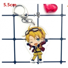 Japan Cartoon Axis Powers Hetalia Anime Acrylic Keychain