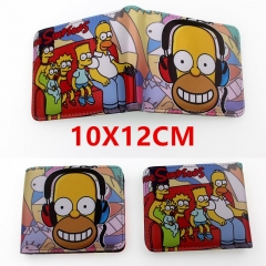 The Simpsons Anime PU Leather Wallet
