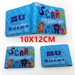 Monsters,Inc Anime PU Leather Wallet