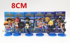 One Piece Japanese Anime PVC Figure Toy Set