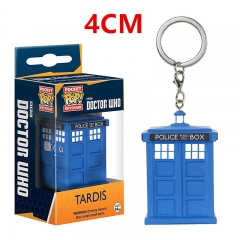 Funko POP Pocket Doctor Who Tardis Anime PVC Keychain