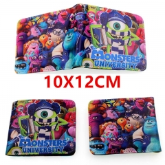 Monsters University Anime PU Leather Wallet