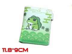 Travel Frog Game PU Leather Anime Wallet and Purse