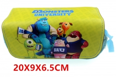 Monsters University Movie Anime Pencil Bag