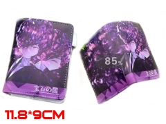 Houseki no Kuni  Land of the Lustrous Anime Amethyst PU Leather Wallet