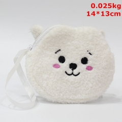 K-POP BTS Bulletproof Boy Scouts Cosplay Cute Coin Purse Anime Plush Wallet