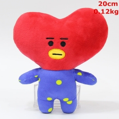 K-POP BTS Bulletproof Boy Scouts Cosplay Cute Doll Anime Plush Toy